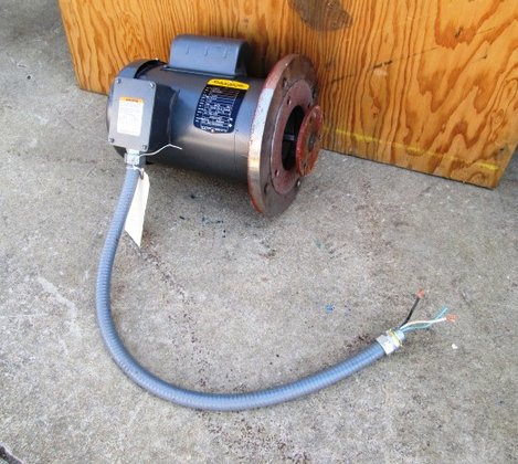 1 HP Baldor Electric Motor