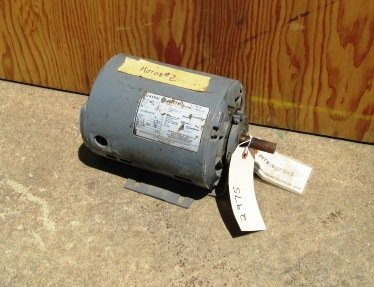 3/4 HP General Electric Thermally