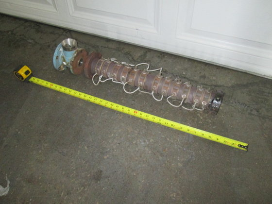 "1"" Davis-Standard Killion Extruder Barrel"