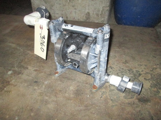 Graco Husky Double Diaphragm Pump.