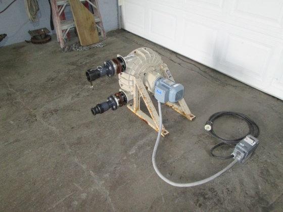 Delasco Peristaltic Pump, 3/4 hp