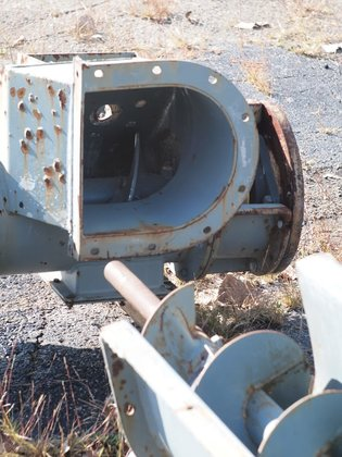 5' conveyor with 18.5' screw