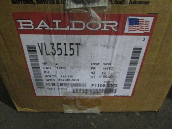 2 hp Baldor Electric Motor