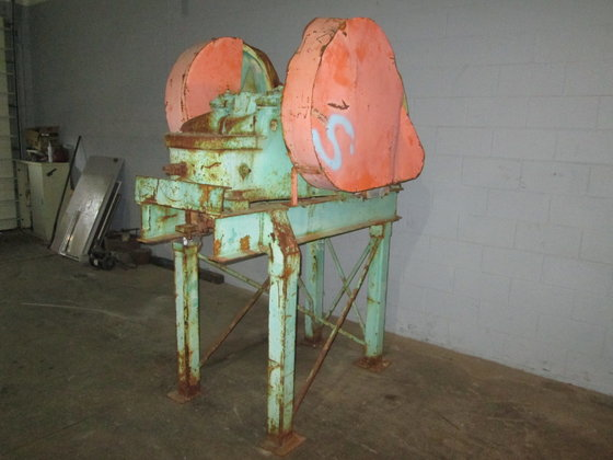 "Sturtevant Jaw Crusher. 4"" x"