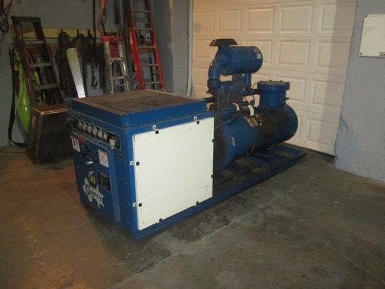 75 hp Quincy Air Compressor.