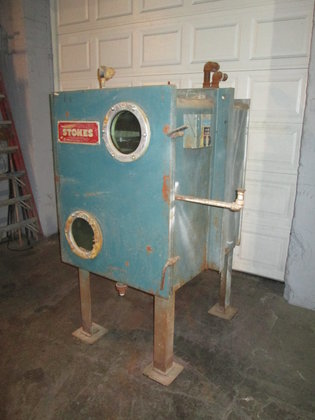 Stokes Vacuum Shelf Dryer in