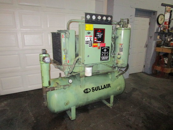 30 hp Sullair Air Compressor.
