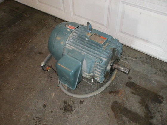used 25 hp Reliance Electric
