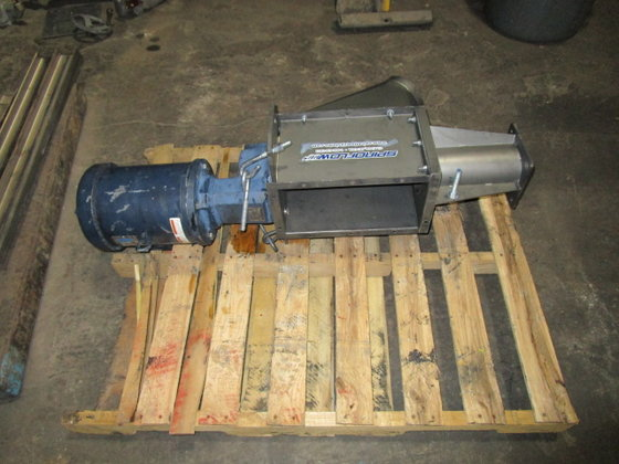 used Spiroflow Feeder Drive 3372