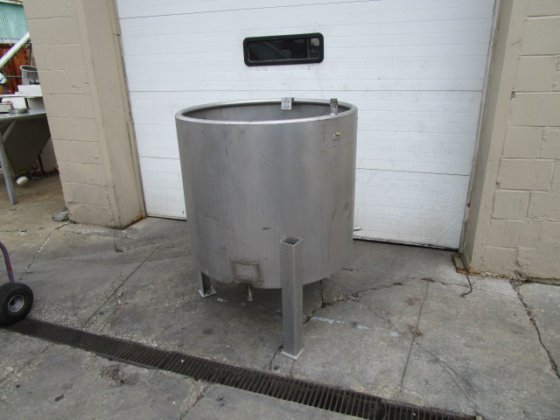 used 135 gallon Stainless Steel