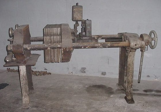 "Sperry Filter Press, 18"" in"