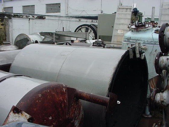 775 gallon Rubberlined Stainless steel