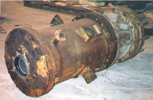 Polybloc Heat Exchanger 454 in