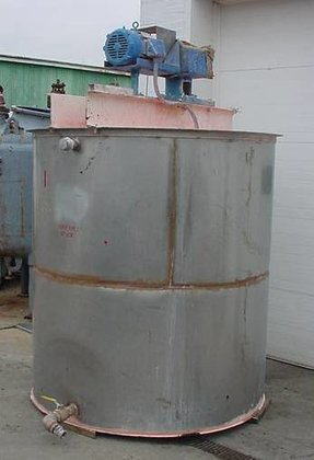 1000 gallon Stainless Steel Mix