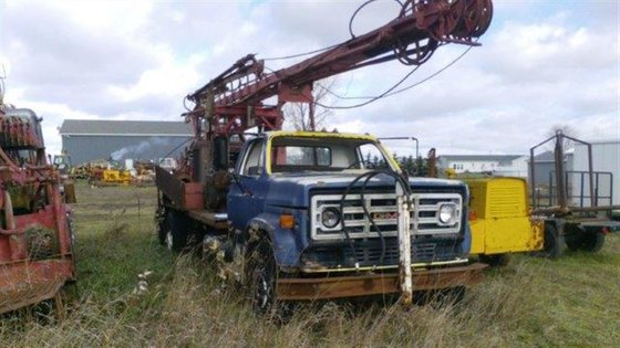 Cyclone 36R Drill Rig in