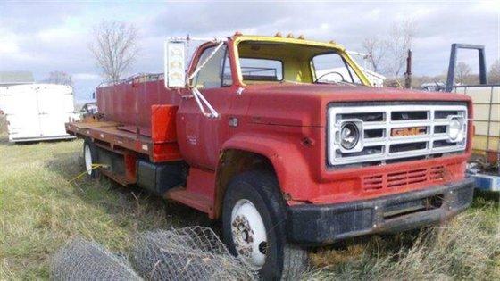 1982 GMC Water Truck in