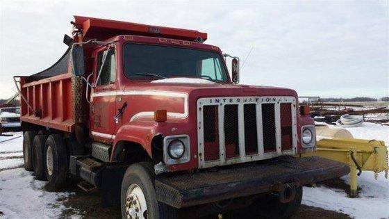 1984 International Dump Truck #10054
