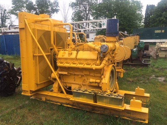 1987 Caterpillar 3412 Diesel Engine