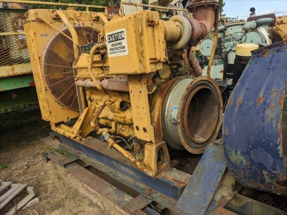 Caterpillar 3412 Diesel Engine #12322