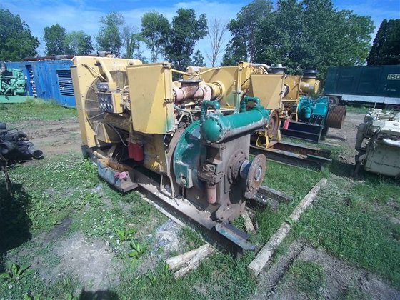 2000 Caterpillar 3412E Diesel Engine