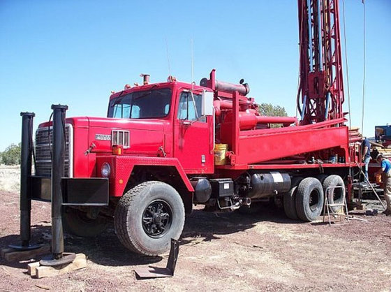 1991 Ingersoll-Rand TH75 Drill Rig