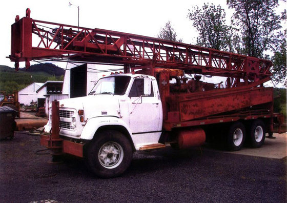 1975 Ingersoll-Rand TH55 Cyclone Drill