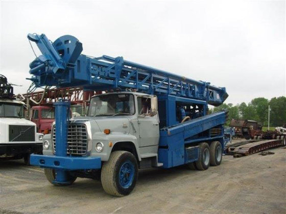 1986 Reichdrill T650W Drill Rig