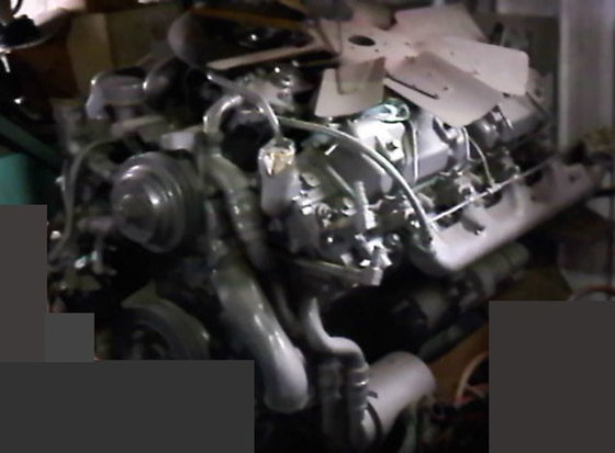 Perkins 8V510 Diesel Engine #2440