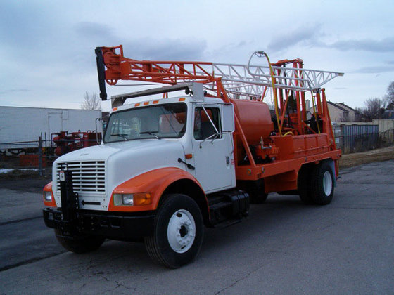 Mobile B61 Drill Rig in