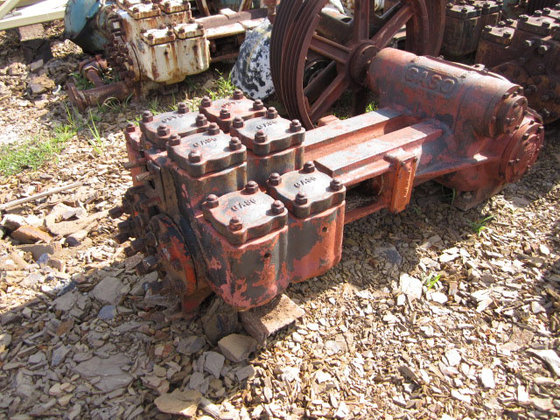 Gaso 1848 Duplex Mud Pump