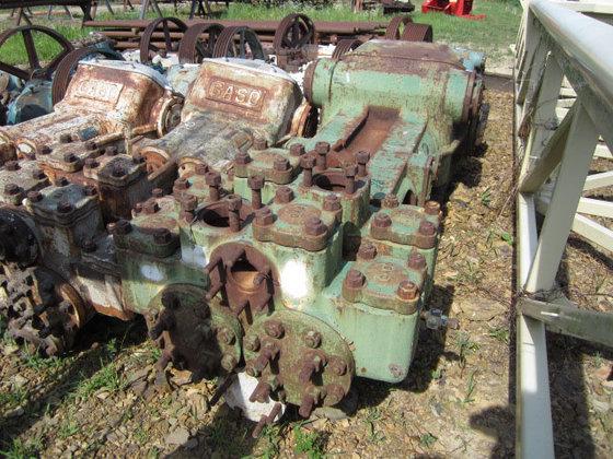 Gaso 12137 Duplex Mud Pump