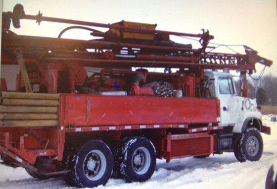 1995 Schramm T450W Drill Rig