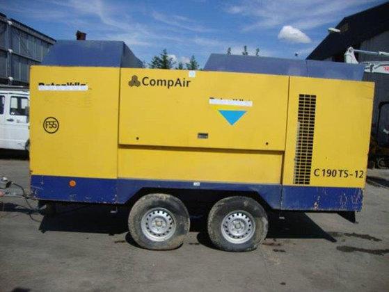 2002 CompAir C190TS-12 Air Compressor