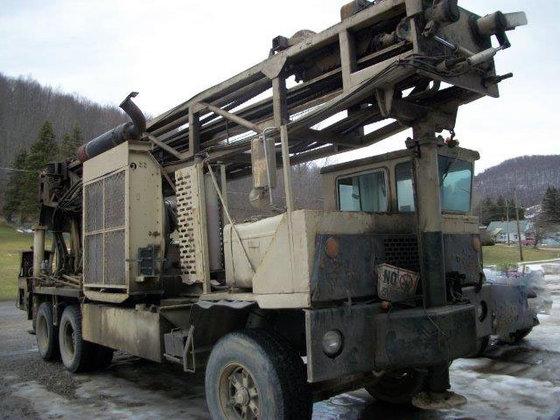 1988 Ingersoll-Rand T4W DH Drill