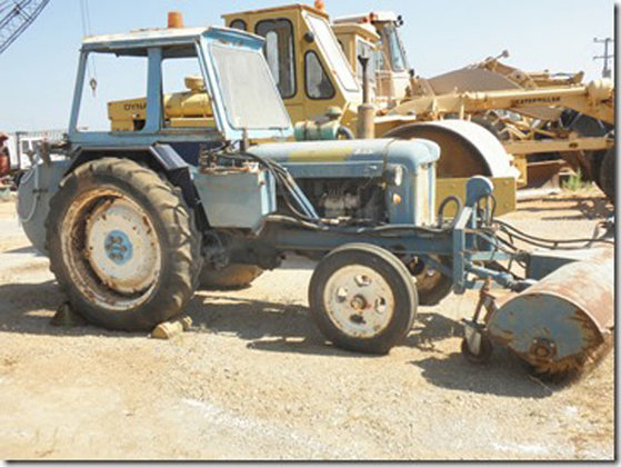 Ford 50N Tractor #3326 in