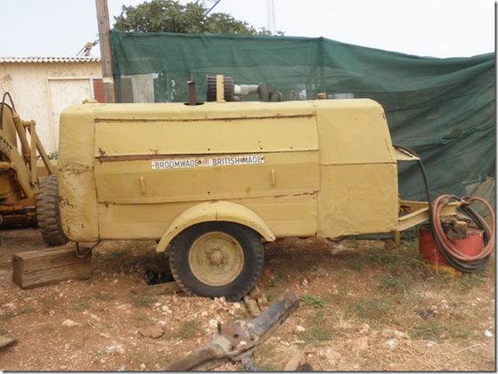 Broomwade Air Compressor #3329 in
