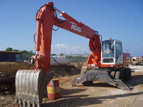 Atlas 1704 Excavator #3340 in