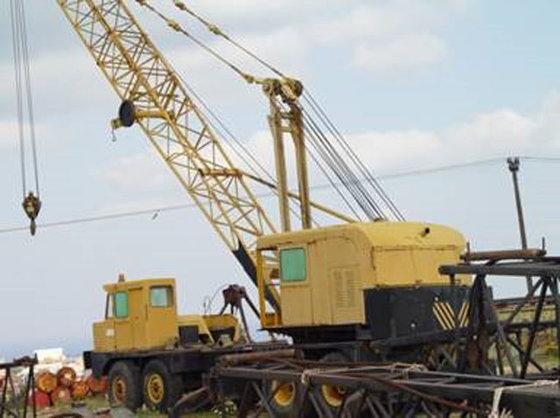 Loren 50T Crane #3344 in