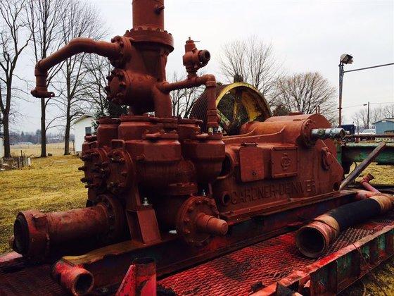 Gardner Denver FXZ172 Duplex Mud