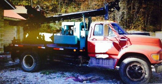 1982 Mobile B50 Drill Rig