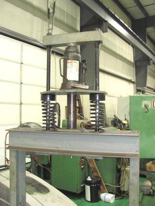 DAYTON 12 Ton H-Frame Press