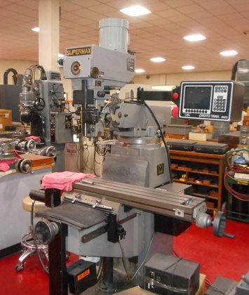 SUPERMAX Vertical Knee Mill, 2