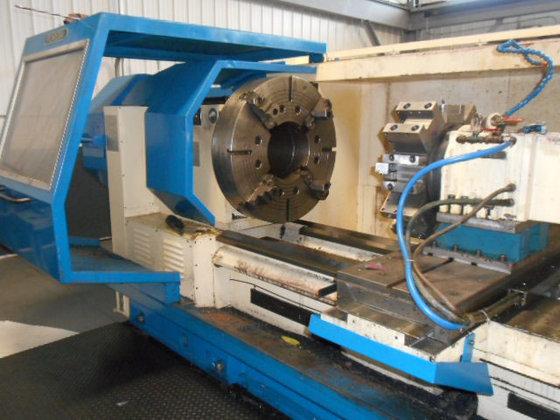 POREBA TRP93N CNC Lathe in
