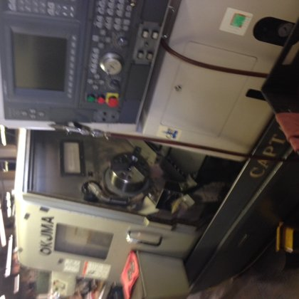 OKUMA L370 BB CNC TURNING