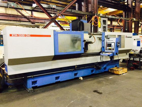 Wixom (MI) United States  city photos : ... machines » DANOBAT CNC SURFACE GRINDER RTM 2500/600 in Wixom, MI