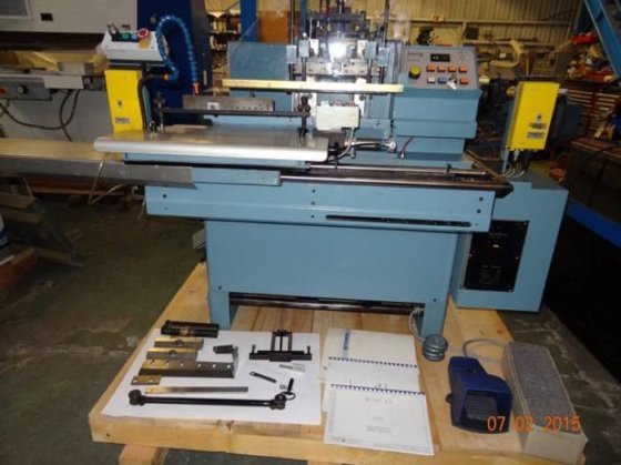 Hunkeler RE-MAT 320 automatic index