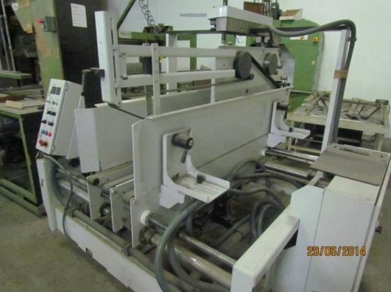2004 Bobst Streampack semi automatic