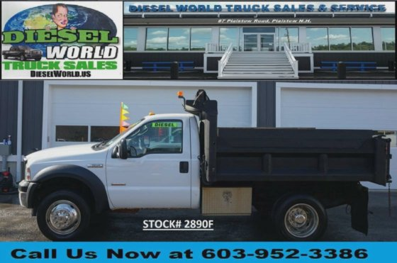 Diesel World Nh >> 2006 Ford F550 In Plaistow Nh Usa