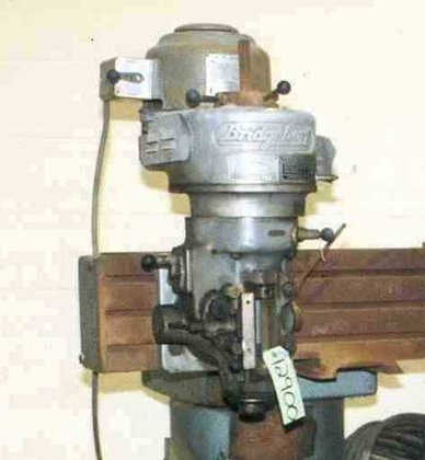 Bridgeport 1 HORSEPOWER VERTICAL HEAD