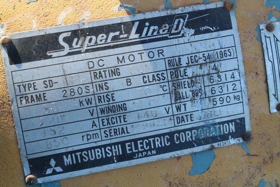 Mitsubishi DP-BB 30 KW DC